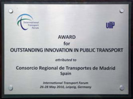 TF-UITP Award to best public transport innovation