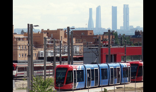 Comunidad de Madrid Light Rail institutional video. English version.