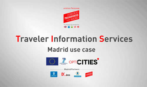 Traveler Information Services. Madrid use case
