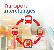 Interchange points