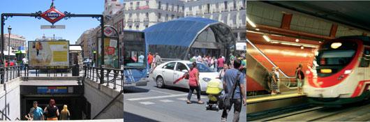 Consorcio regional de transportes de madrid - Webcam puerta del sol ...