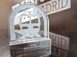 MetroRail Award to Smart Cities Design