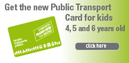 New Public Transport Card for children