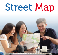 Madrid Region Street Map