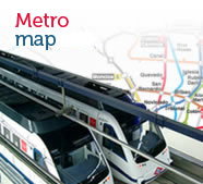 Metro map, open new window