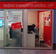 Oficinas de Gestión de la Tarjeta Transporte Público