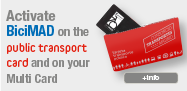 BiciMAD + Public Transport Card: Registration form annual subscription