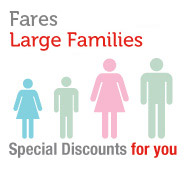 Large families fares