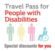 Disabled travel card