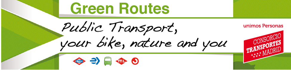 Green Routes. Public Transport, your bike, nature and you